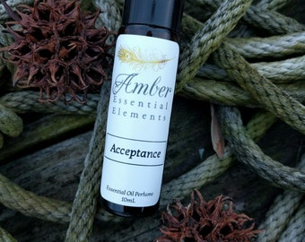Acceptance: lavender, clove, and vanilla synergy blend