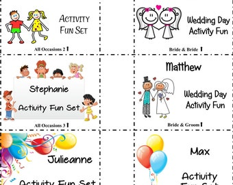 Other Occasions kids activity fun pack