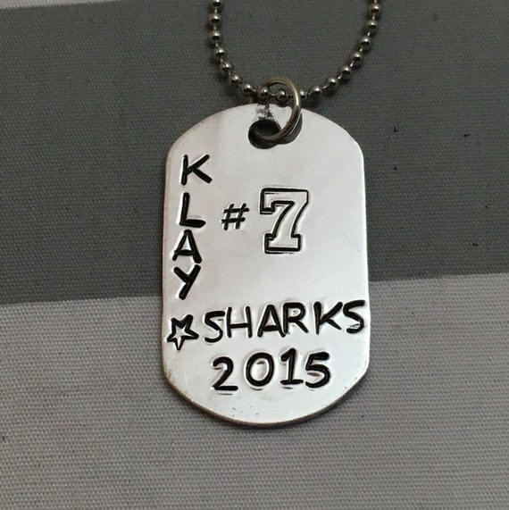 personalized baseball dog tag necklace by mykreativekreationss. Black Bedroom Furniture Sets. Home Design Ideas