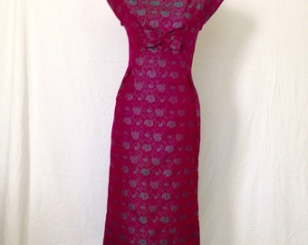 1960's Formal Party Dress - 1960's party dress - 1960's dress