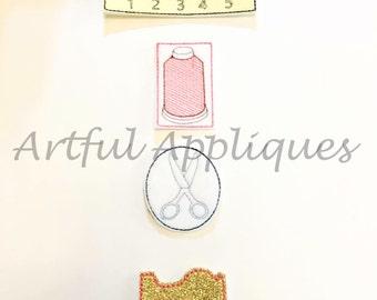 Sewing Machine Feltie Set