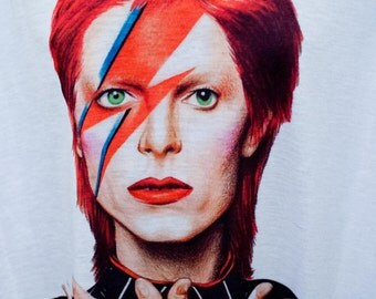 05 David Bowie ziggy stardust t-shirt