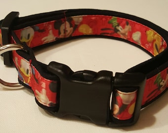 Dog Collar, Disney, Mickey Mouse, Mickey and Friends