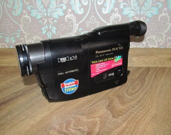 Vintage videocamera Panasonic RX10