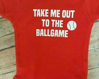 Baseball Onesie, Baby Onesie,  Baby Shower Gift, Baseball Shirt, Personalized Onesie, Baseball Outfit, Baby Bodysuit,