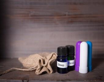 Custom Essential Oil Inhalers