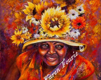 Beauty Radebe - Fine Art Reproduction