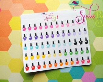 Small Nail Polish Stickers