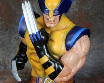 Wolverine Bust Money Bank