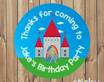Personalized Birthday Party Stickers, Birthday Party Labels, Birthday Party Tags, Christening Stickers, Baptism Stickers, Party Favours