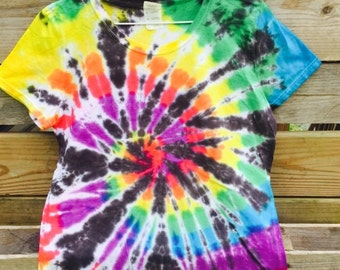 Wonen's Large Tie Dye T-Shirt