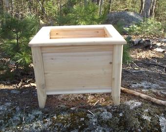 Cedar Planter Box With Legs