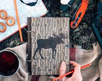"Sketchbook ""FAUNA Moose"""