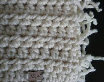 Rustic Fringe Throw / Blanket