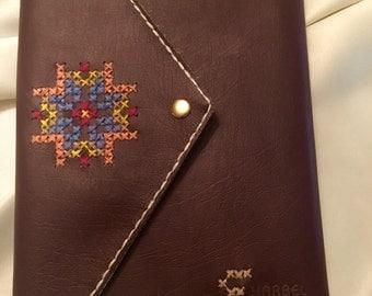 Handmade travel journal - notebook