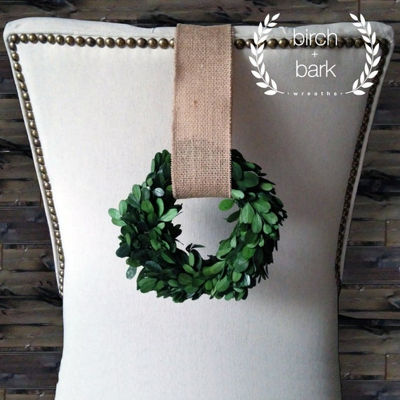 Indoor Wreaths Home Decorating: Home Decor Preserved Boxwood Wreath Indoor Wreath Wall