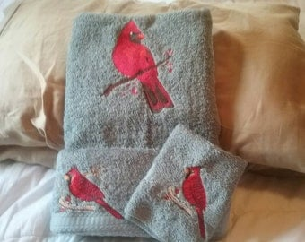 Cardinals  Towel Set