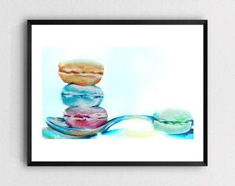 Macarons - Art Print