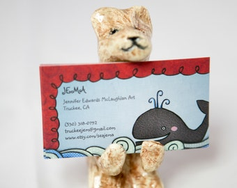 Bear Card Holder