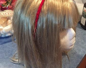 Crocheted Cherry Headband