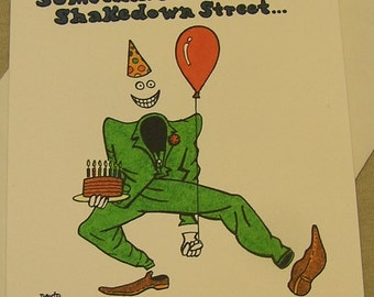 Grateful Dead Birthday Card Birthday terrapin Regular size