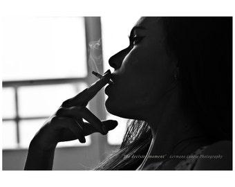 The decisive moment - limited edition print - Fine art photography - woman photography - Fotografia fine art - Bianco e nero
