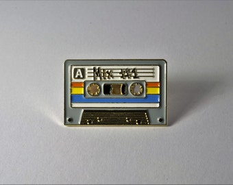 Zato Designs Series 1 Mix Tape Lapel Pin OR Ring