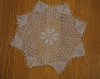 Vintage Hand-crocheted Lace Doily