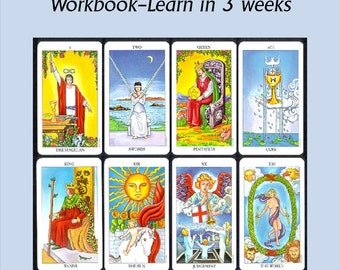 Learn to Read Tarot in 3 Weeks - Major Arcana Workbook