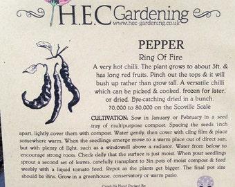 Chilli Pepper - Ring O Fire