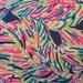 INDIGO PALM READER Fabric 18x18 or 18x9 Lilly