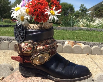 SoleMates Boot Planter