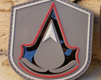 Assassin's Creed - IR Reflective PVC Patch - Infrared