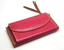 look bag - Popular items for leather zip wallet on Etsy