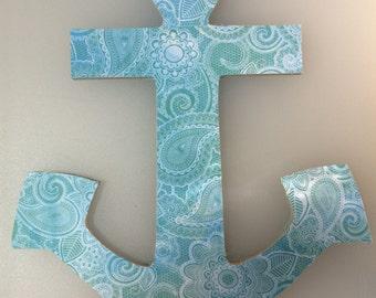 Anchor Decoration, handmade