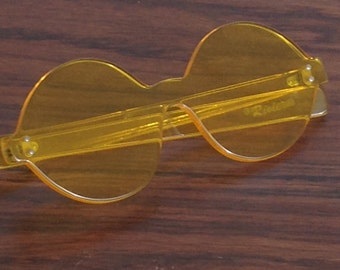 VINTAGE RIVIERA acrylic SUNGLASSES retro plastic