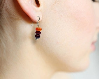 NeufNeuf red/orange earrings 2