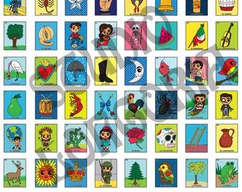 Bingo Fabric Etsy