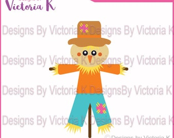 Scarecrow, Fall, Halloween, Thanksgiving, SVG, PNG, EPS Files, Cricut Design Space, Vinyl cut Files