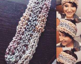 Finger Crochet Headband