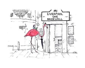 Liverpool One Bridewell - Print