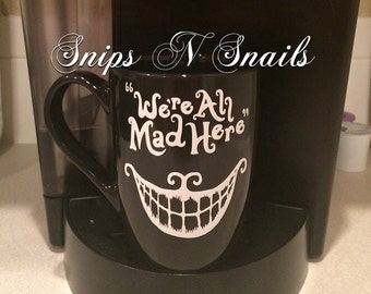 Alice in Wonderland inspired mug