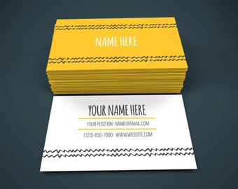 Printable Business Cards, Business Card, Business Card Design, Business Cards, Premade Business Card, Custom Business Cards