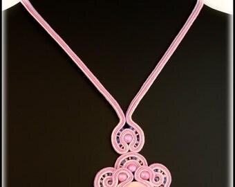 Soutache necklaces