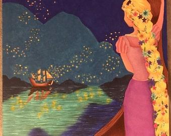 Daydreaming Princesses - Rapunzel/Tangled
