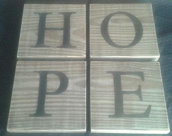 "Rustic ""Hope"" Arrangement"