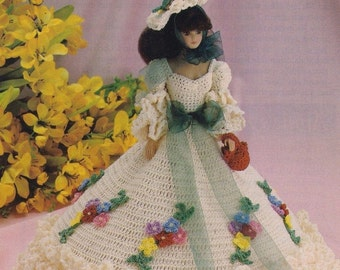 Garden Party, Fashion Doll Clothes Crochet Pattern Pages BYOB Build Ur Own Binder of Favorites