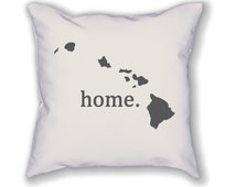 Hawaii home. Pillow