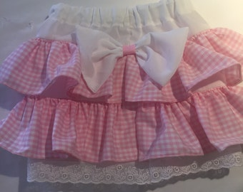 Frilly  baby skirt size 9 months to 12 months