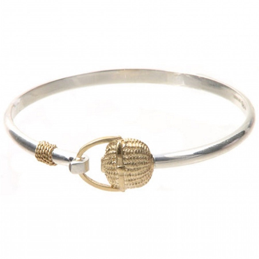 Cape Cod Nantucket Basket Bracelet Sterling Silver 925-Rhodium